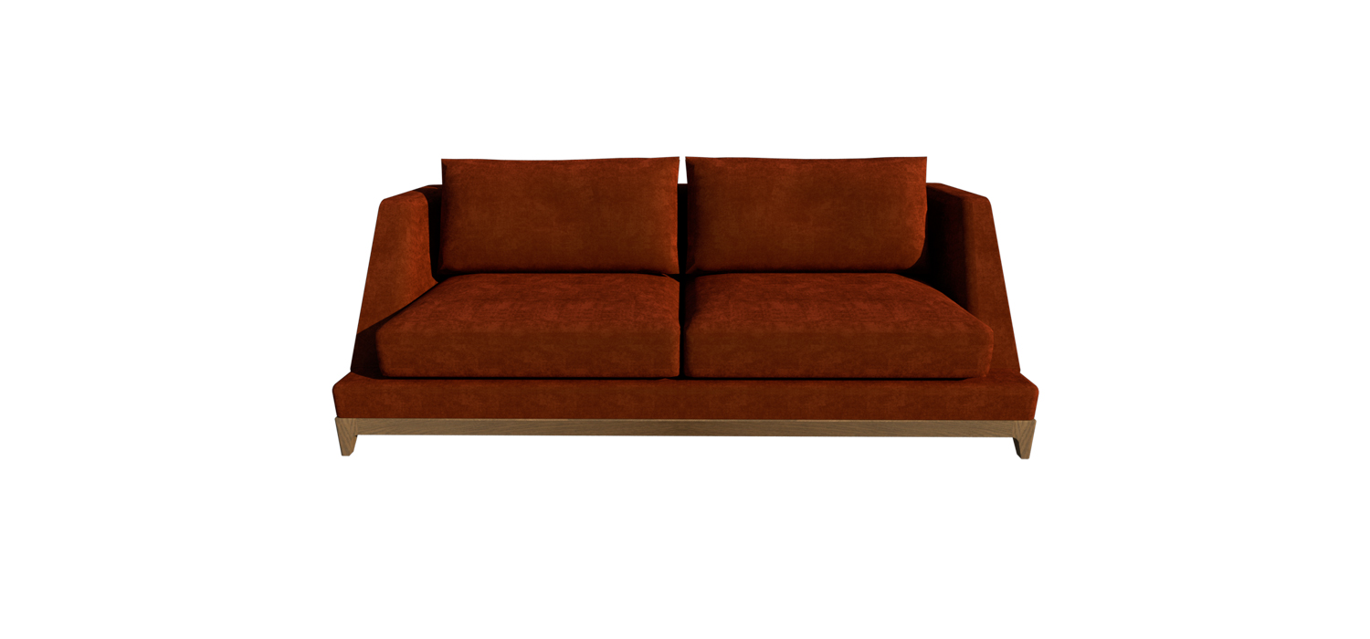 CITY SOFA VISTA FRONTAL