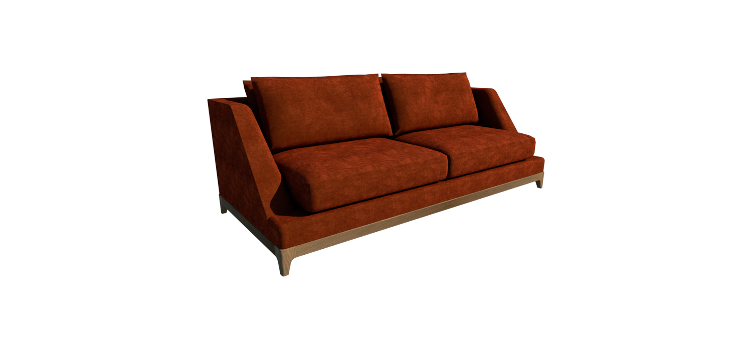 CITY SOFA VISTA PERSPECTIVA DELANTERA