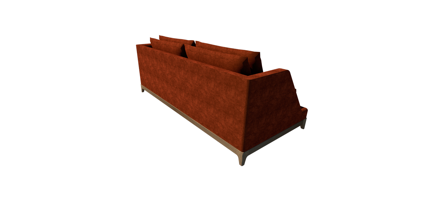 CITY SOFA VISTA PERSPECTIVA TRASERA